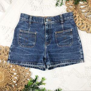 Calvin Klein Jeans Patch Pocket Denim Shorts